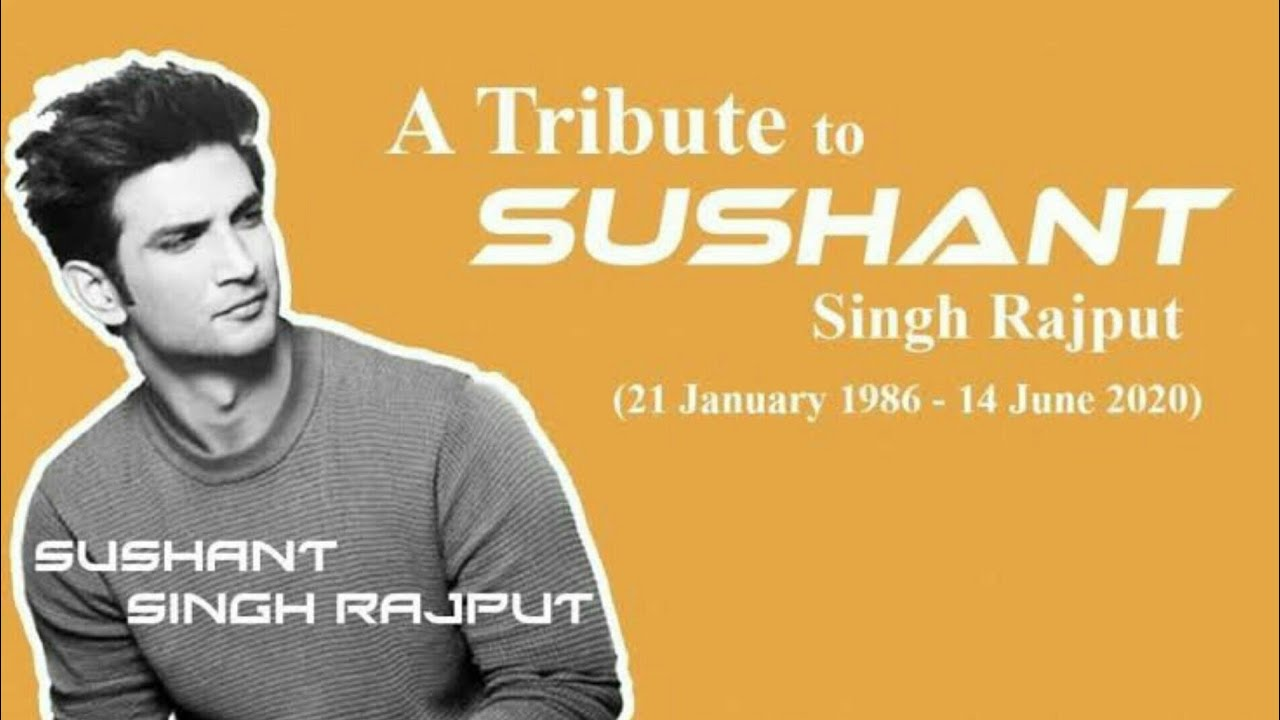 Sushant Singh Rajput Tribute song    Real time hero    RIP    cold song    copyright free song