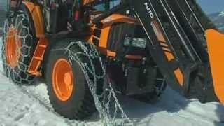 Łańcuchy śniegowe pewag traktor doppelspur