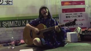 酸欠少女さユり 光と影 渋谷駅宮益坂口 15.5.10