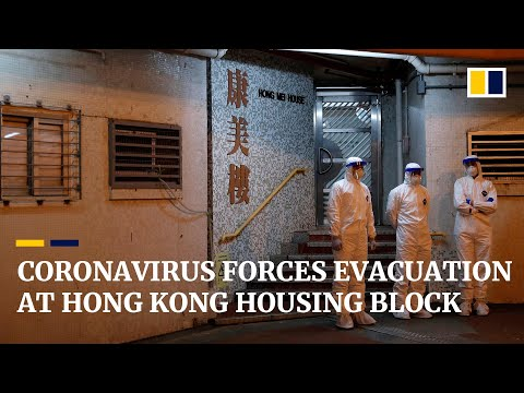 Over 100 Evacuated From Hong Kong Housing Estate After Two Coronavirus Cases Found In Same Block