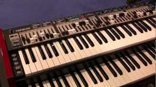 NORD C2D - Hear and see what this portable double organ can do!