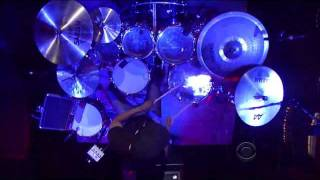 Tony Royster kicks off another week of drum solos on the Letterman ...