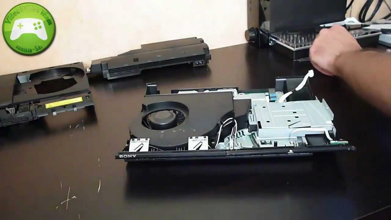 Démontage PS3 Super Slim - YouTube