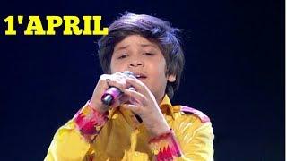 Zaid ali-maula mere lele meri jaan 1'april rising star season 2 , latest new episode,chote rahat ali