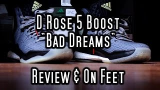 "Video Adidas D Rose 5 Boost - ""Bad Dreams"" Review & On Feet download MP3, 3GP, MP4, WEBM, AVI, FLV Agustus 2018"