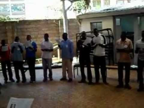 Kenyan Catholic Youth Leaders Singing You Are Holy