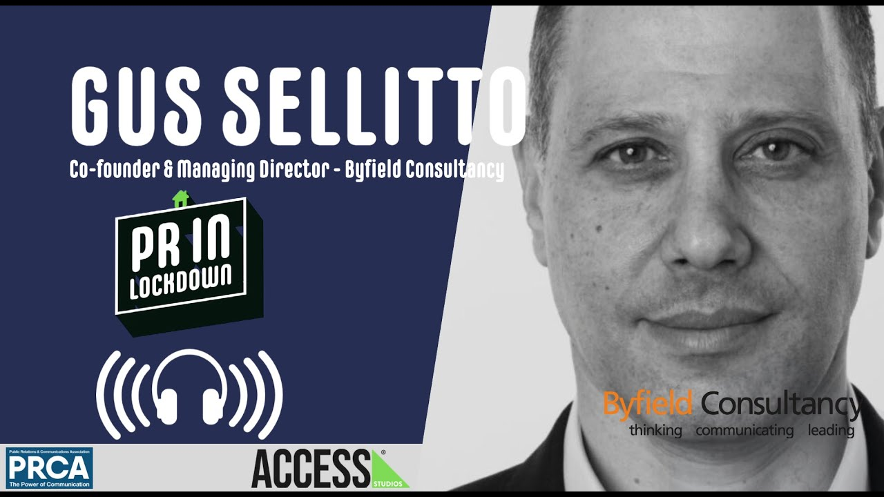 """There's a lot of collective learning that's going on"" - Gus Sellitto, Byfield Consultancy"