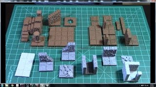 Dragonlock 3d Printable Dungeon Terrain - Expansion Set 1 and 2 review