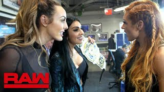 The WWE Women's Tag Team Titles become IIconic: WWE Exclusive, April 8, 2019
