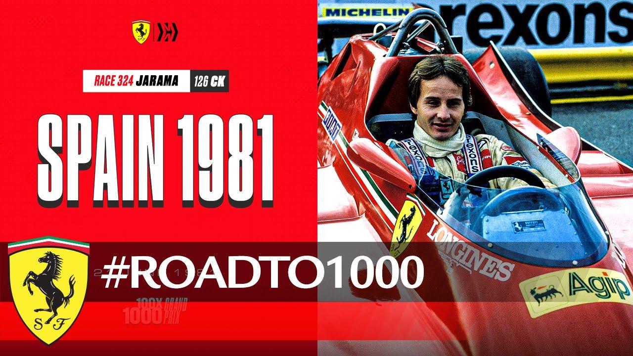 #RoadTo1000 – Spanish GP 1981 – YouTube
