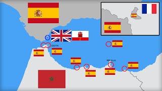 Las fronteras más raras del mundo: España