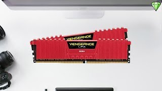 Corsair Vengeance LPX 16GB Red