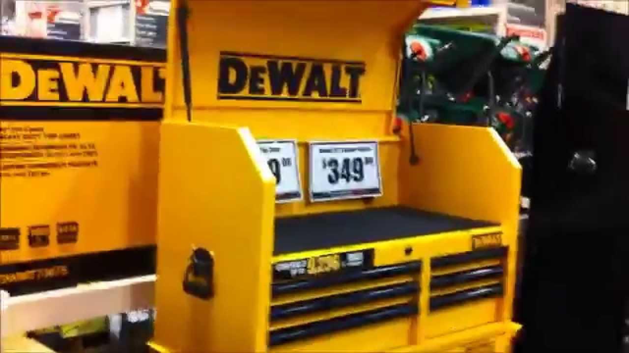 dewalt tool storage. (new) dewalt tool chest - youtube dewalt storage