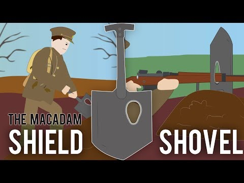MacAdam Sniper Shield-Shovel (Weird Tech)