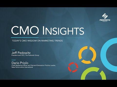 CMO Insights: Dario Priolo, Chief Marketing Officer, Sales Performance International