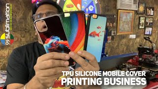 9310172437 Rubber TPU Silicone Soft Mobile Cover Printing Machine Sublimation Soft Cover Machine