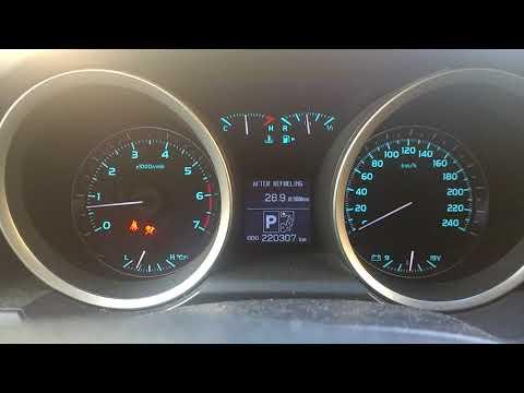 Расход топлива Ланд Крузер 200 V-4.7 зимой в городском режиме.