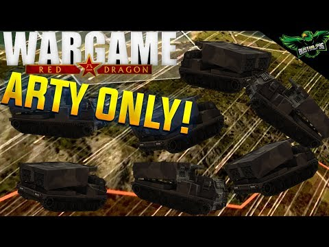 Artillery Only in a 10v10 Multiplayer Gameplay | Wargame: Red Dragon