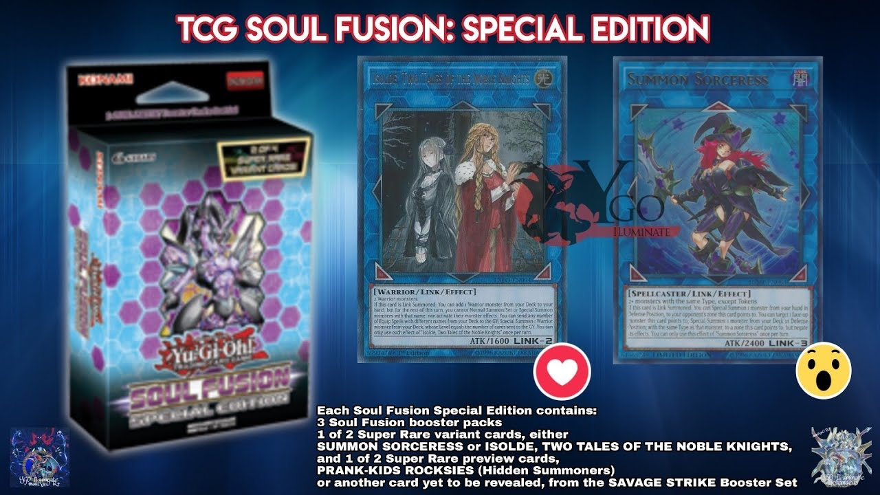 soul fusion special edition europe