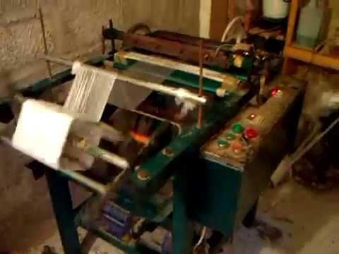 Machine de fabrication des sac plastique youtube - Machine de fabrication de treillis a souder ...