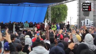 Big Sean Kendrick Lamar Perform Blessings At Nickerson Garden Projects