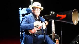 """Who's the Meanest Gal in Town Josephine"" - Elvis Costello  (Oxford UK, 3 June 2015)"