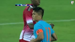 India 3-0 Kenya | Hero Intercontinental Cup2018 |Sunil Chhetri's100th game for India|Match Highlight