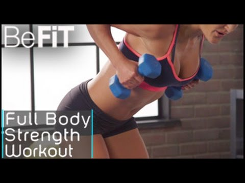 Full Body Strength Workout- Maddy Mosier