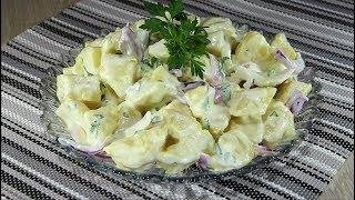 Млечна картофена салата