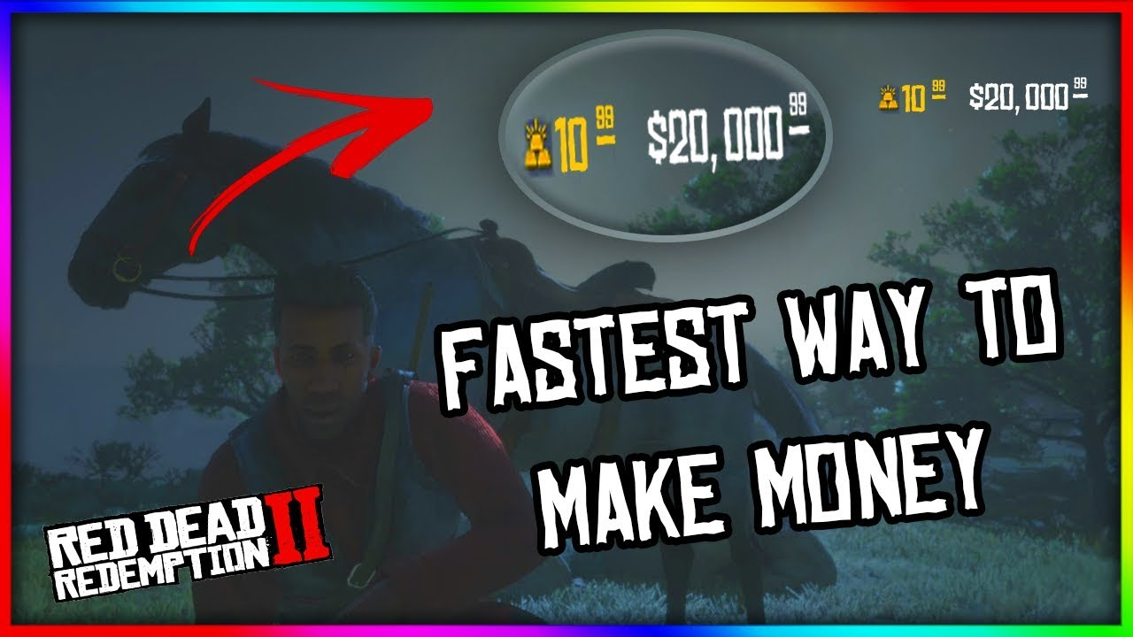 fastest way to make money rdr2 online fastest way to get money in red dead redemption 2 online 8533