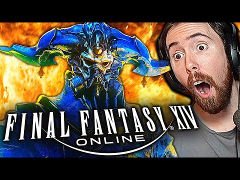 Asmongold BLOWN AWAY By Final Fantasy XIV | First Time Playing