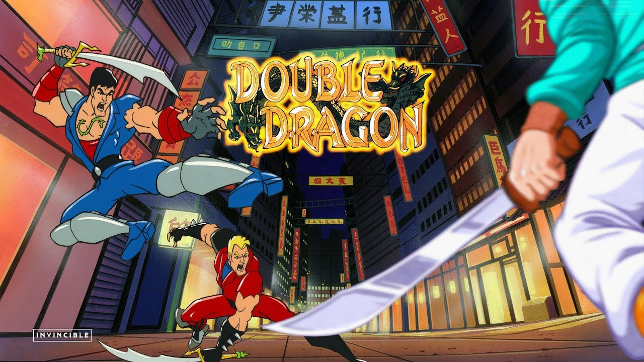 Double Dragon The Animated Series S01 E01 The Shadow Falls Youtube