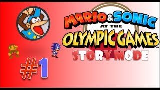 """Mario & Sonic at The Olympic Tokyo 2020 Story Mode Part1 """"Got Trapped Back From 2020 to 1964"""""""