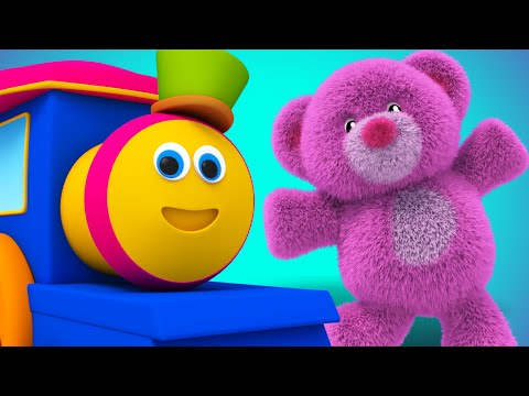 Bob The Train - teddy bear teddy bear turn around nursery rhyme childrens rhyme Bob Cartoons S01EP24