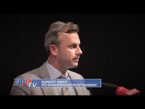 Norbert Hofer - Rede im Stieglkeller in Salzburg - 15.4.2016