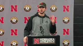 HOL HD: Tanner Lee Wisconsin postgame
