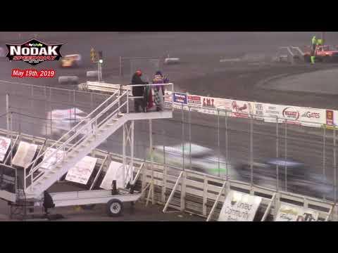 Nodak Speedway IMCA Modified A-Main (5/19/19)