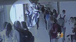School Security Guard Saves Choking Student
