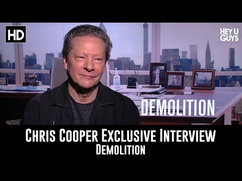 Chris Cooper Exclusive Interview - Demolition