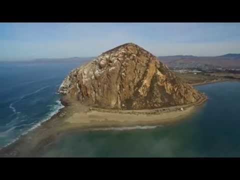 MORRO BAY CALIFORNIA (shot by drone (inspire 1 4K )