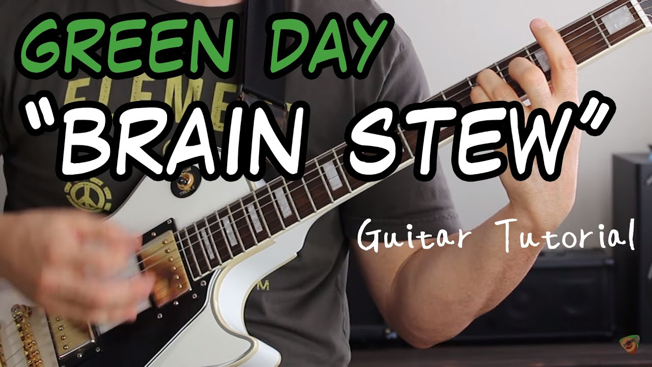 Green Day Brain Stew Guitar Lesson Punk Rock Power Chords