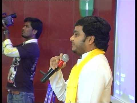 Vijay Chintakayala's speech @TDP Bangalore forum