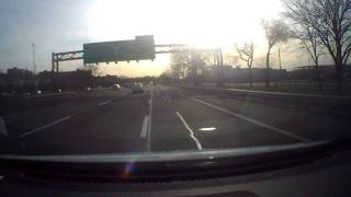 Near collision on the Whitestone expressway 1/20/12.AVI