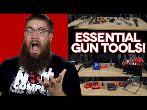 REAL LIFE GUNSMITHING TOOLS- What TGC ACTUALLY Uses!