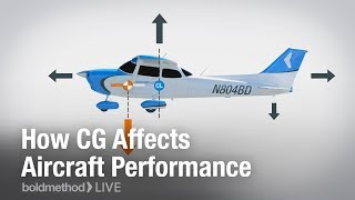 How CG Affects Aircraft Performance: Boldmethod Live