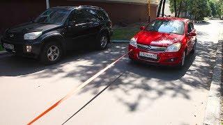 Как Opel Astra сдохла на съемках :(