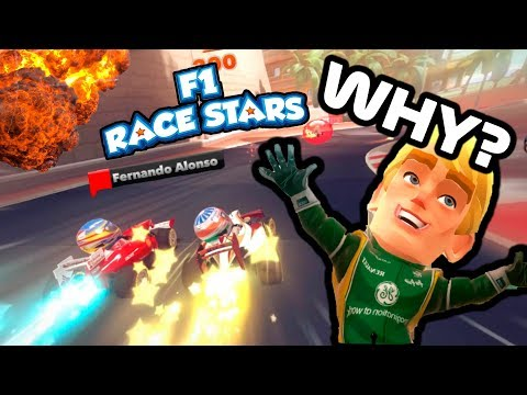 WHY THIS EXISTS!? - Random Shit On F1 Race Stars |
