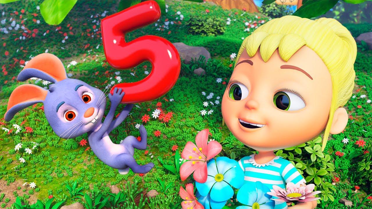 Canciones Infantiles de Números y Animales | El Reino Infantil