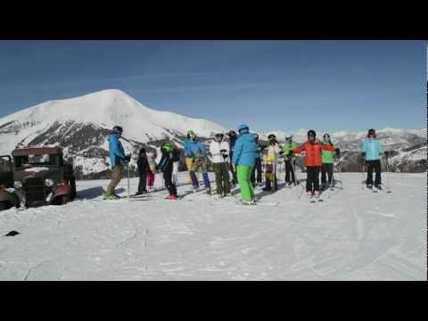 Harlem Shake original Montana Mountaintop Ski American Spirit High Altitude Edition