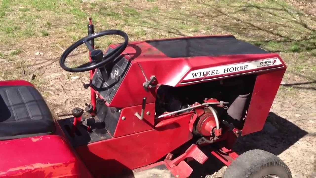 1981 Wheel Horse The New Addition To The Lawn Mower Fleet
